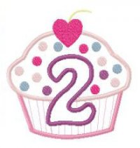 Free Clipart 2nd Birthday.