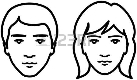 Brother face clipart black and white 2 » Clipart Station.