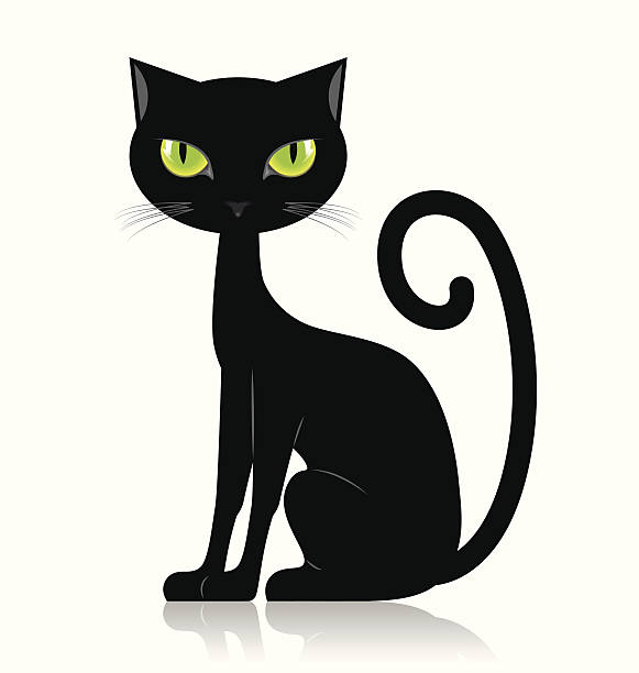 Black cat clipart 2 » Clipart Station.