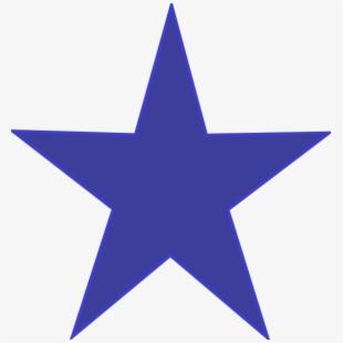 Blue Stars PNG Images.