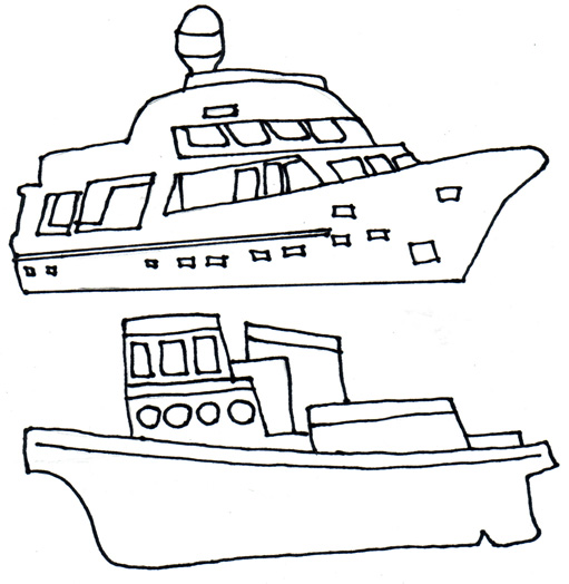 2 Boat Clipart