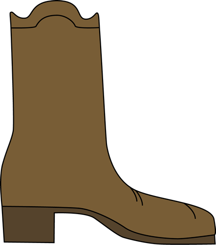 Cowboy boots clipart free download clip art on 2.