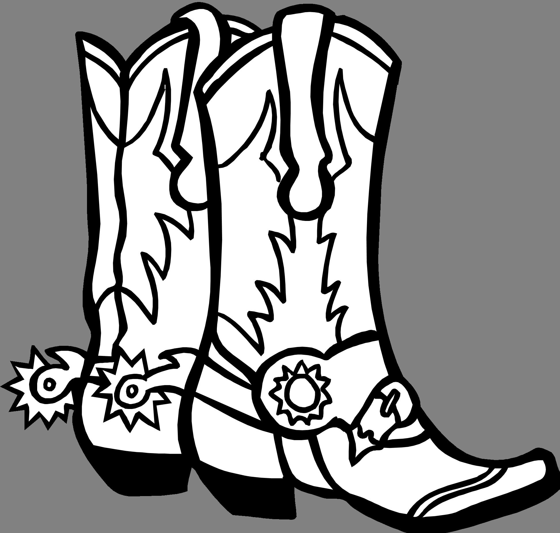 Cowboy boot Free content Clip art.