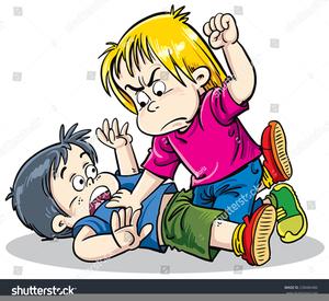 Free Clipart Children Fighting.