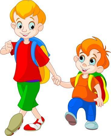 2 brothers clipart 7 » Clipart Portal.