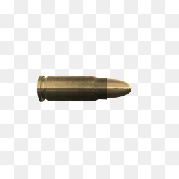 133 Bullets free clipart.