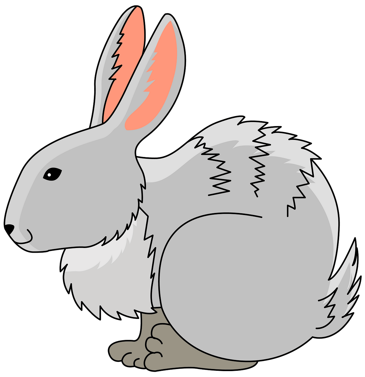 Bunny clipart. Free download..