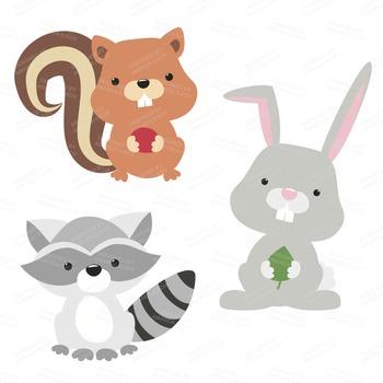 Download High Quality Rabbit Woodland Transparent PNG Images.
