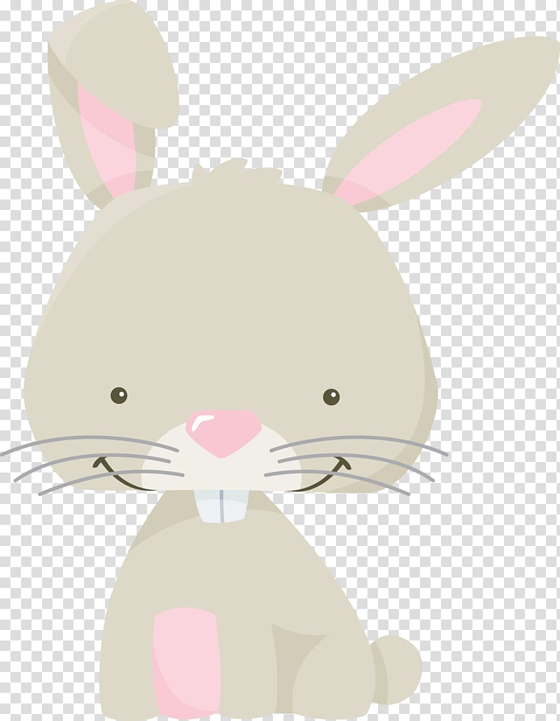 Domestic rabbit Easter Bunny Hare Whiskers, Woodland bunny.