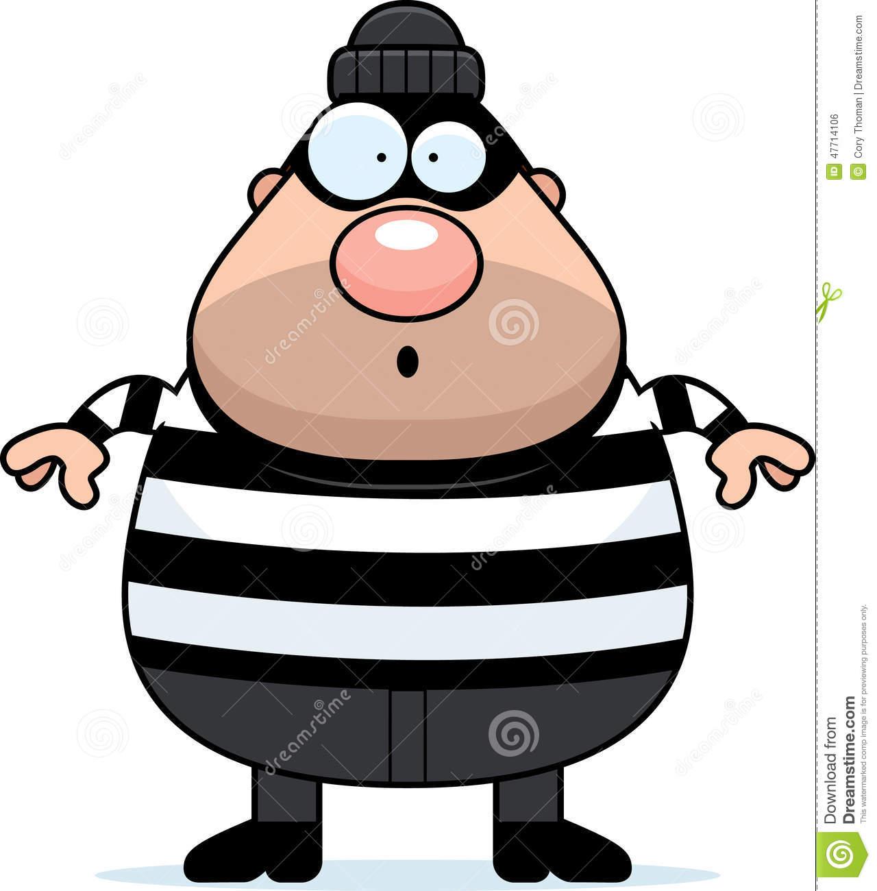 123 Burglar free clipart.
