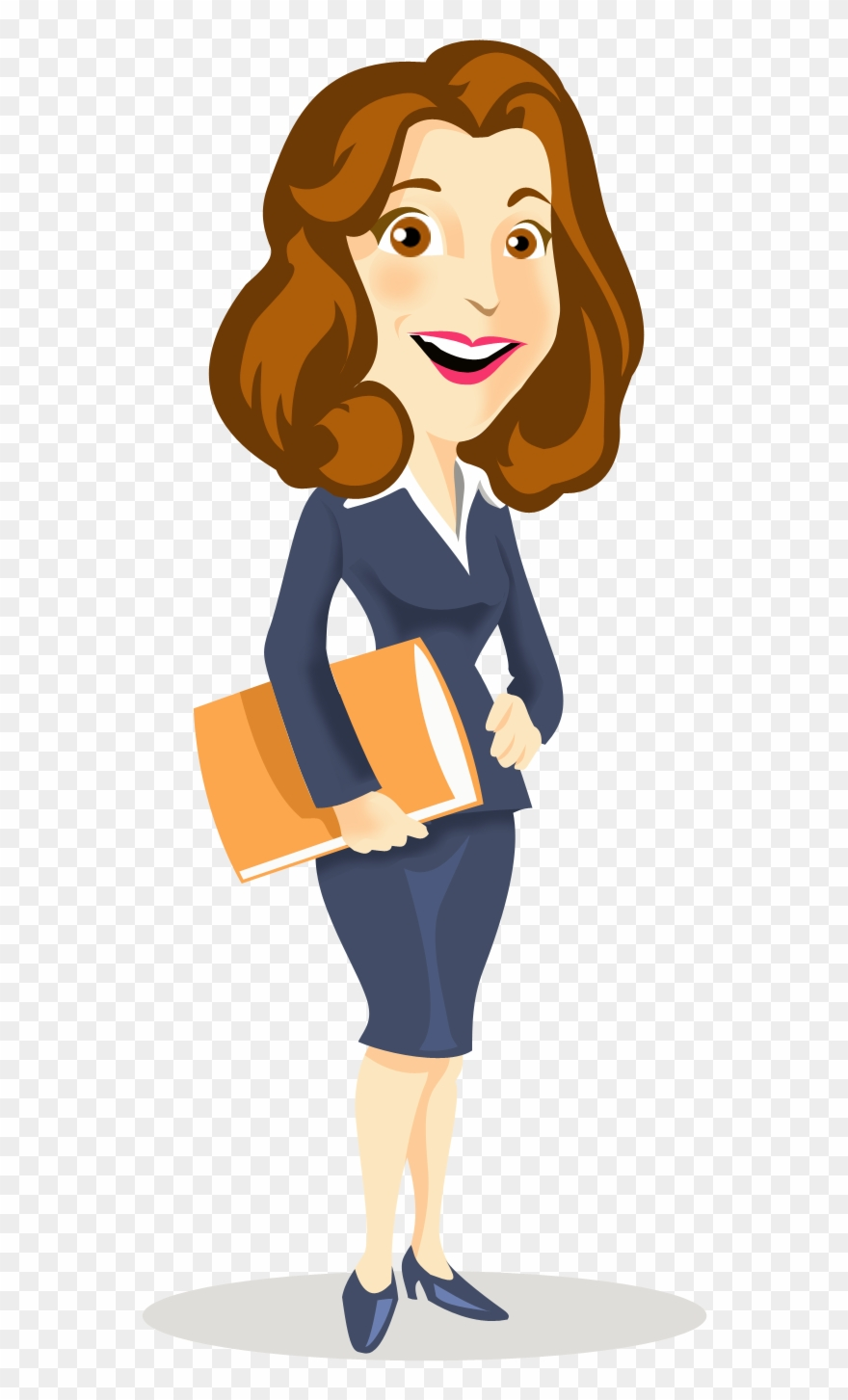 Businessperson Cartoon Clip Art Mood Frame Transprent.