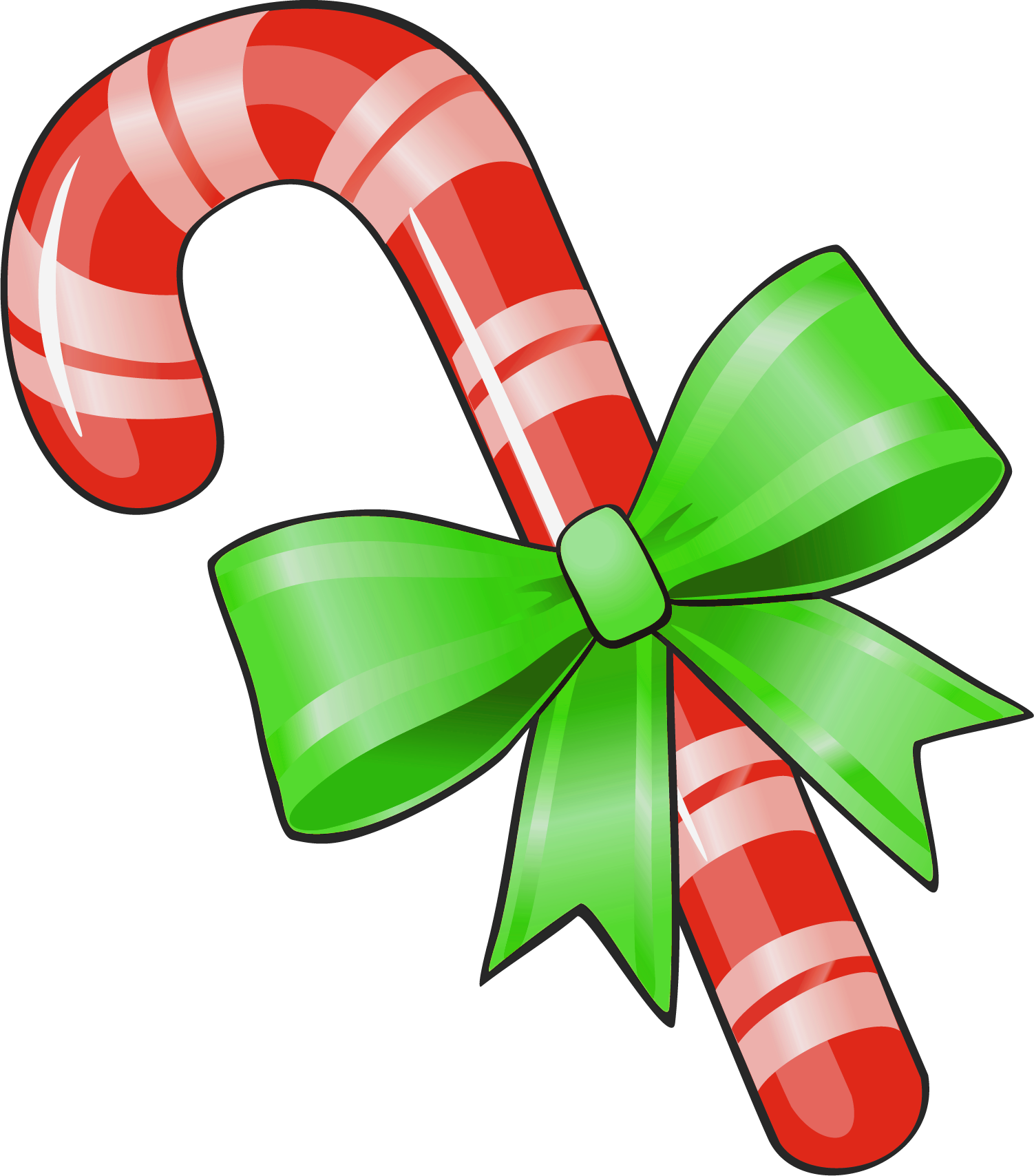 Candy cane christmas clip art free clip art images free.