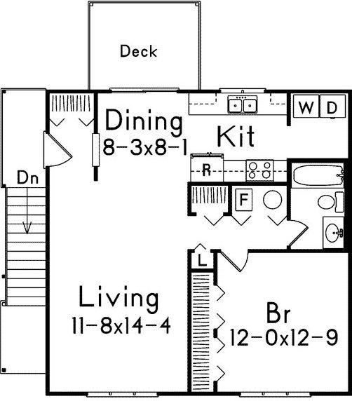 Apartments Over Garages Floor Plan.