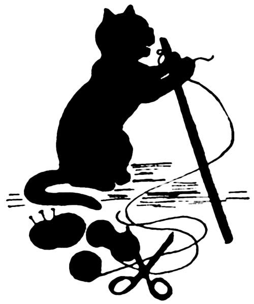 162 best images about 1s Cat Silhouettes on Pinterest.