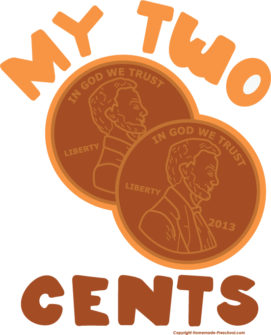 2 cent piece clipart #27