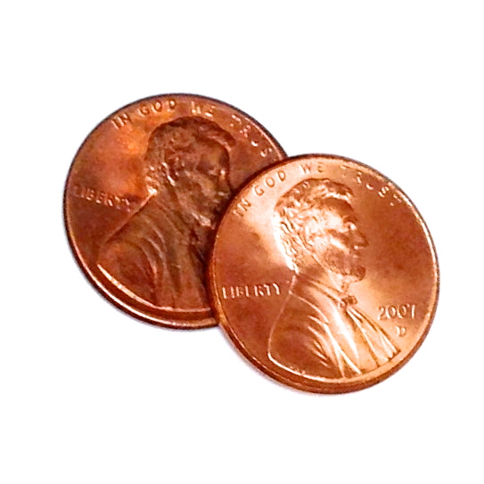 Two cents clipart.