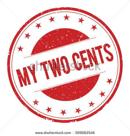 Two Cents Stock Photos, Royalty.