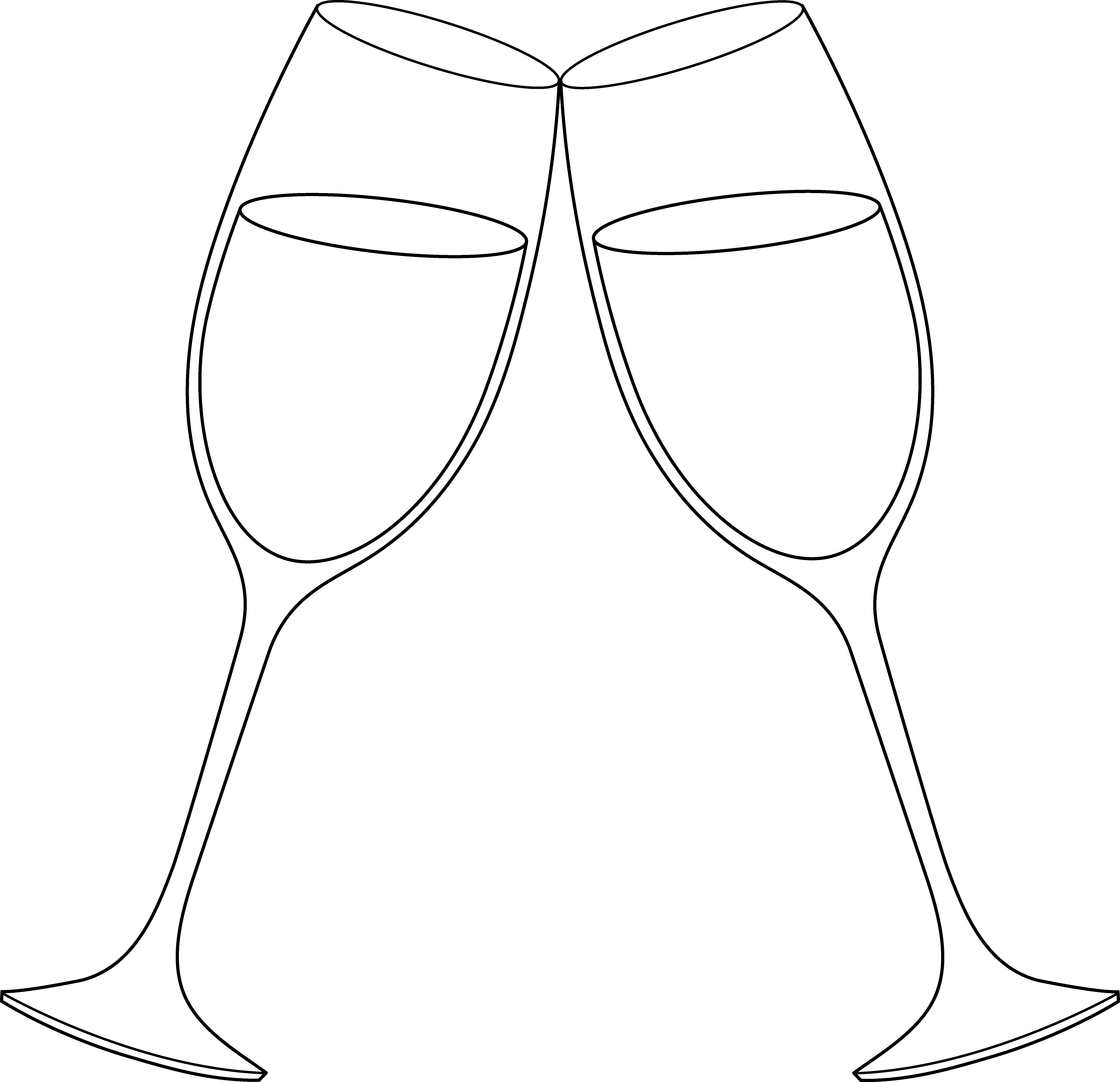 Free Champagne Glasses Clipart, Download Free Clip Art, Free.