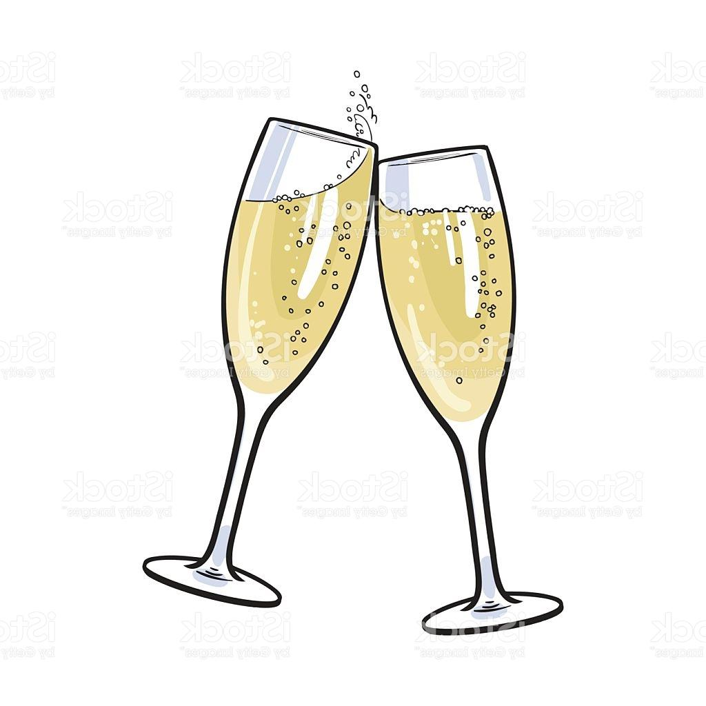 376 Champagne Glass free clipart.