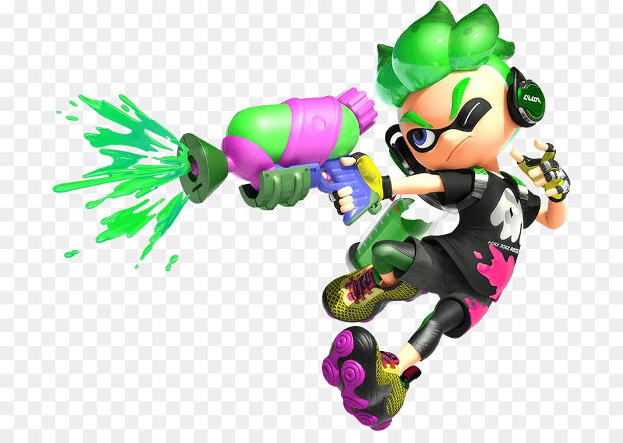 splatoon 2 characters clipart Splatoon 2 Wii U Nintendo.