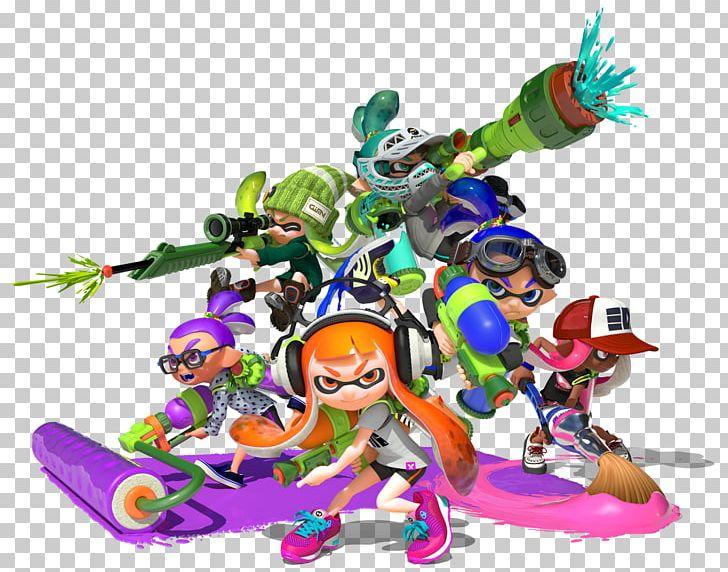 Splatoon 2 Wii U The Art Of Splatoon PNG, Clipart, Action.