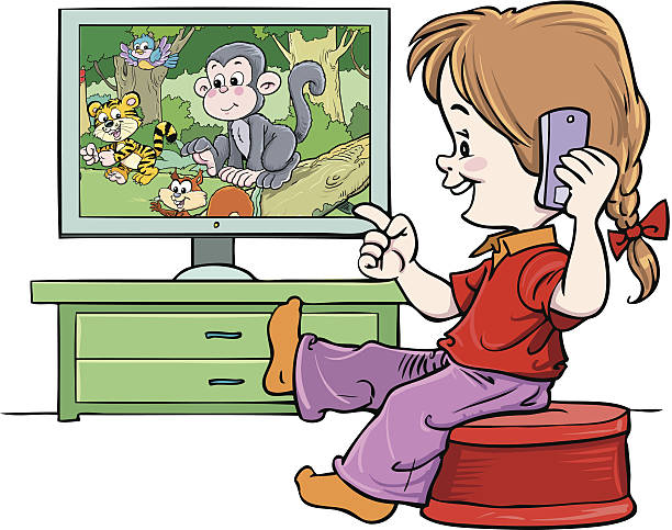 Watch tv clipart 2 » Clipart Station.