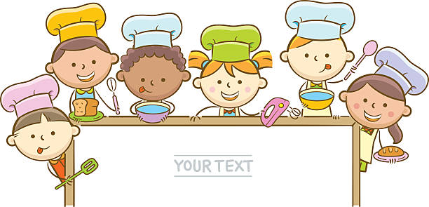 Children cooking clipart 2 » Clipart Station.