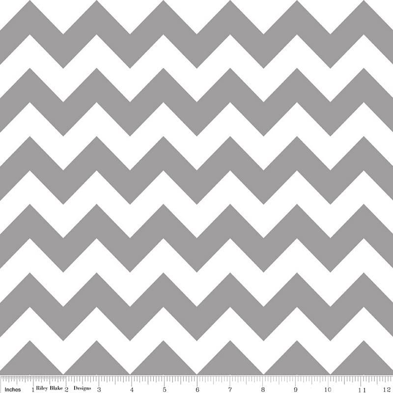 Chevron Corporation Textile Flannel Cotton Pattern, White.