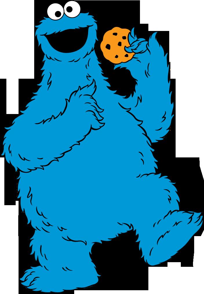 Cookie monster clip art in 2019.