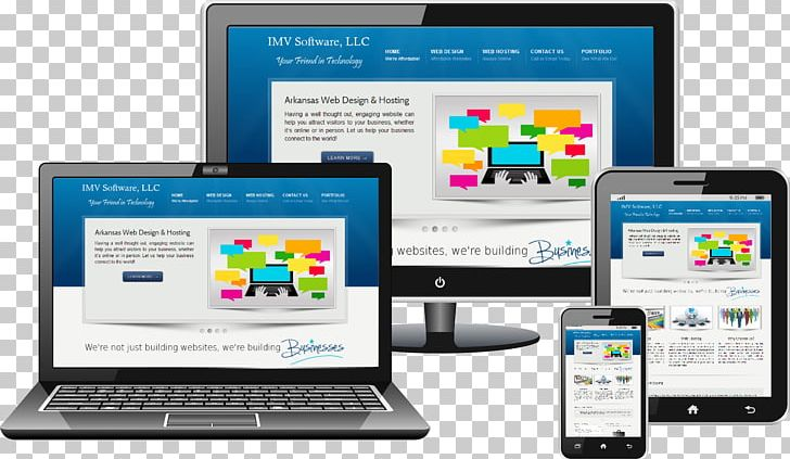 Responsive Web Design Web Development Mobile Web Website PNG.
