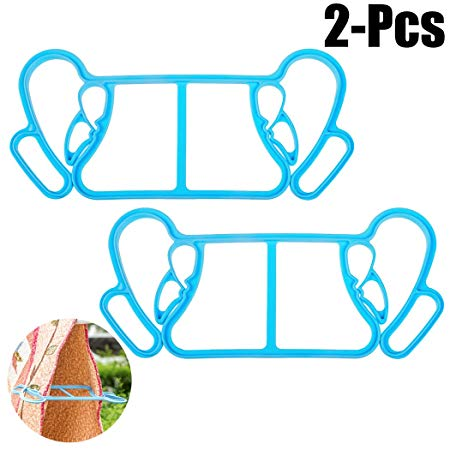 Justdolife 2PCS Clothespins Large Sized Windproof Anti Skid.