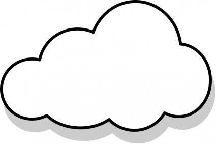 Thinking cloud clipart 2 » Clipart Station.