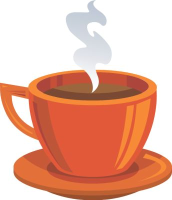 Coffee cup clipart 2.