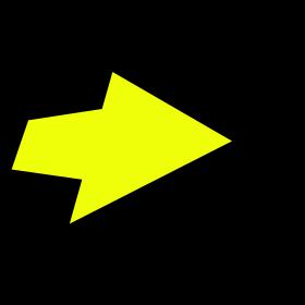 Arrow 3D two colors.