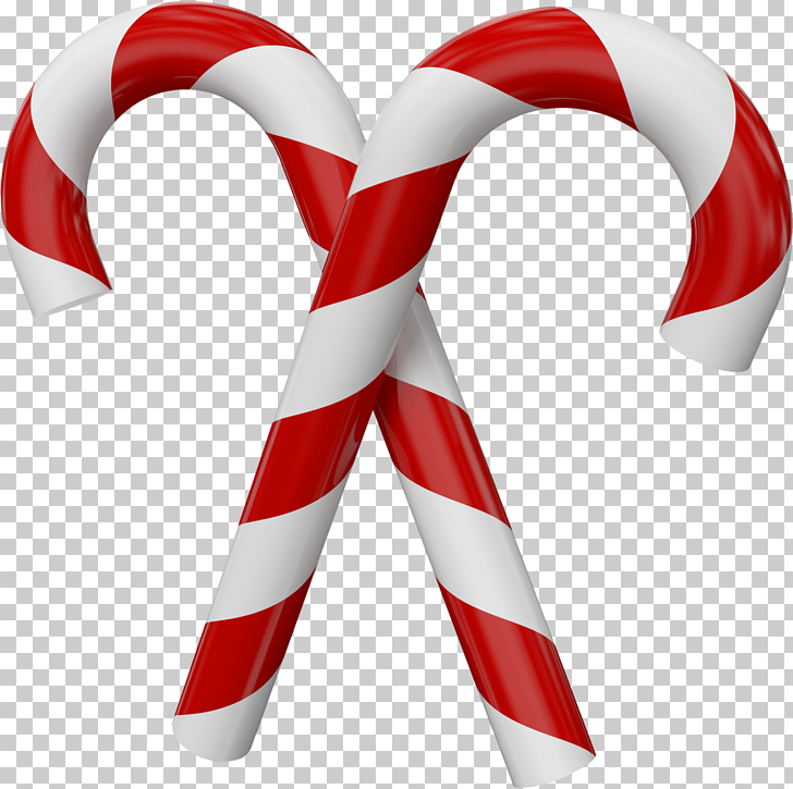 Candy cane Christmas , Large Transparent Christmas Candy.