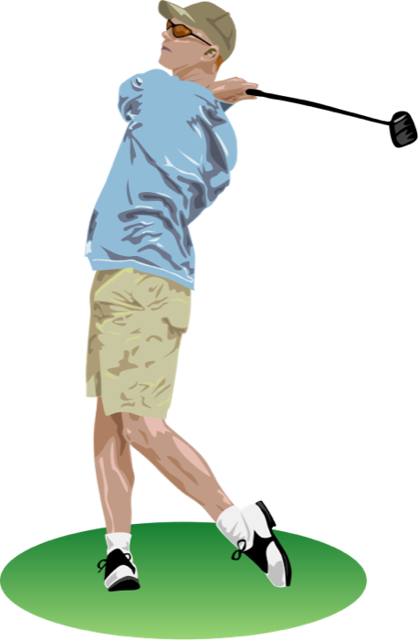 Free golf clipart and animations 2.