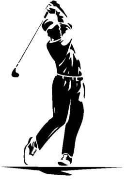 Washington Huskies Mens Golf clipart.