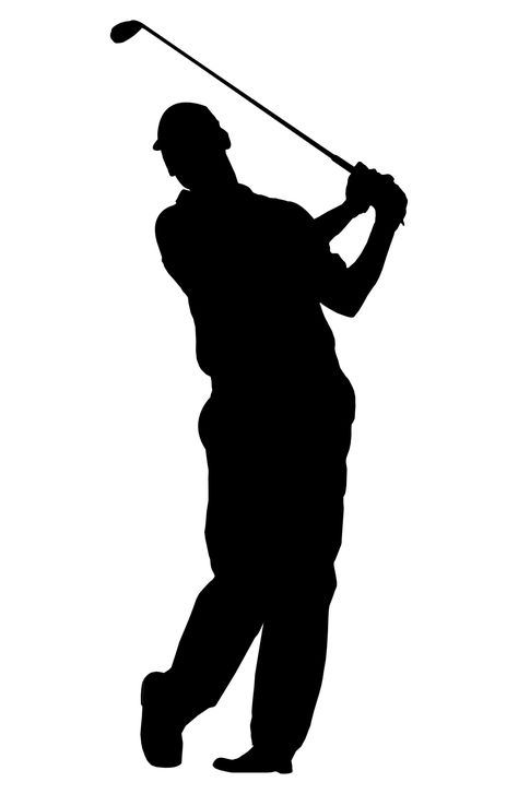 Golfer free golf clipart images graphics animated 2.