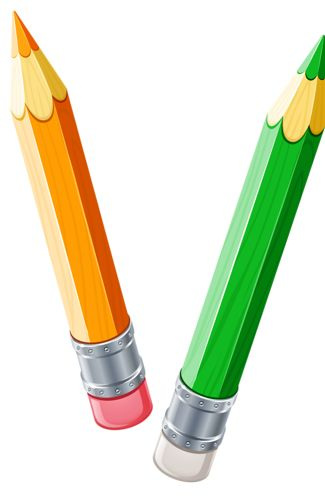 2 colored pencils clipart clipart images gallery for free.