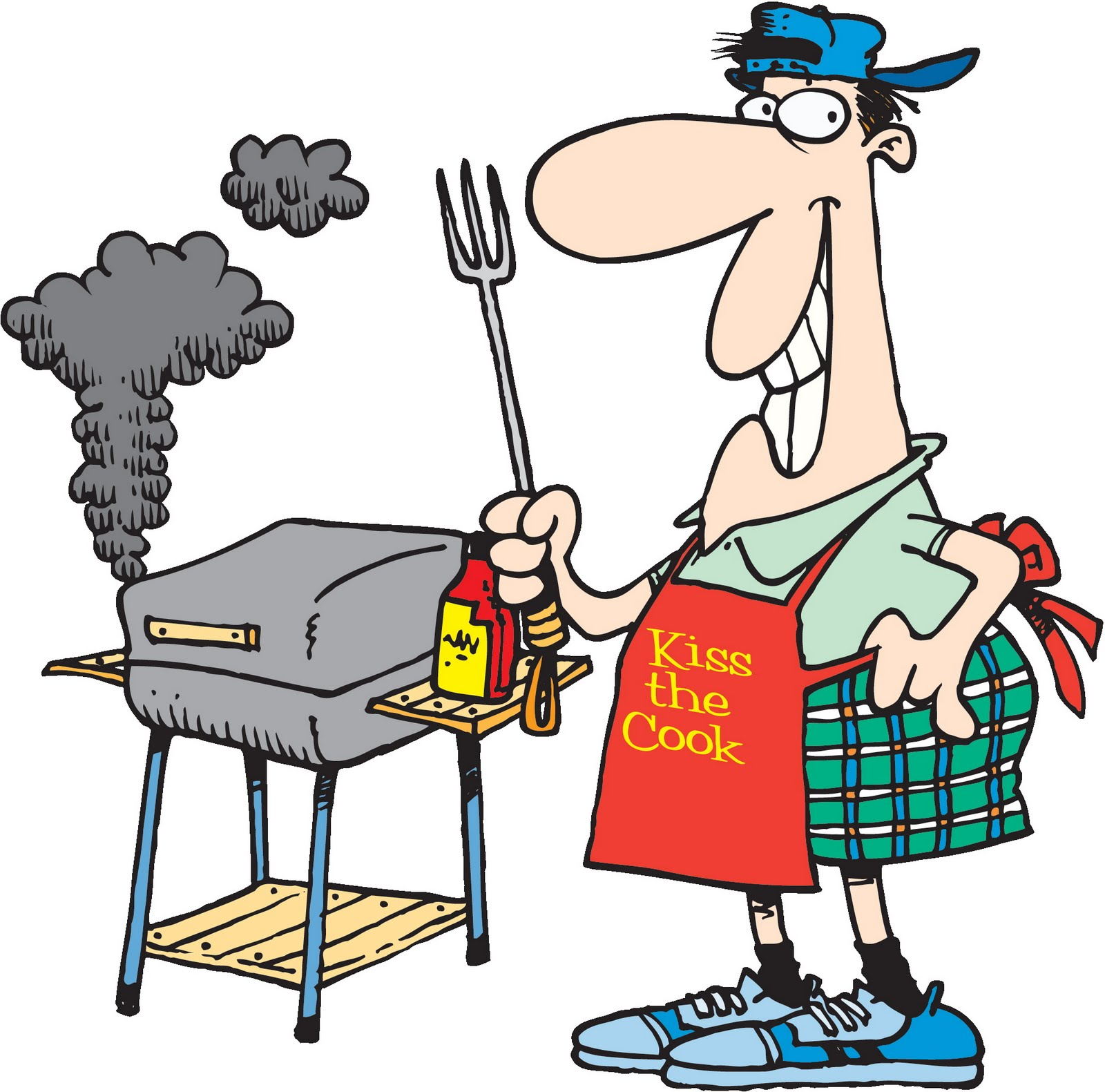 Bbq party clipart free clipart images 2.