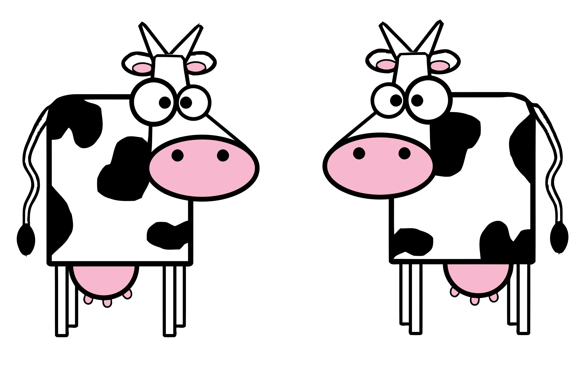 Cows by @CandyAdams, 2 Black.