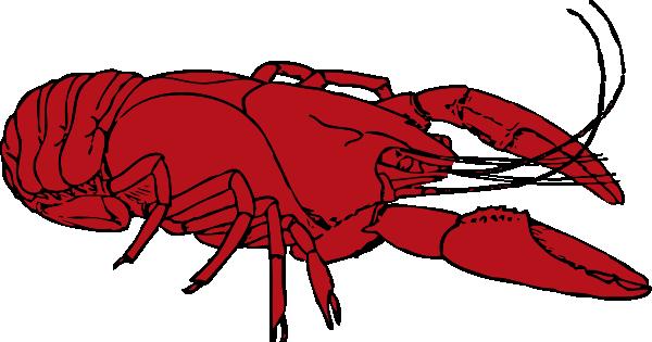 Crayfish Clip Art at Clker.com.