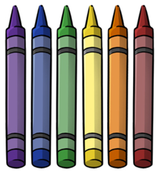 Crayon clipart 2 image.