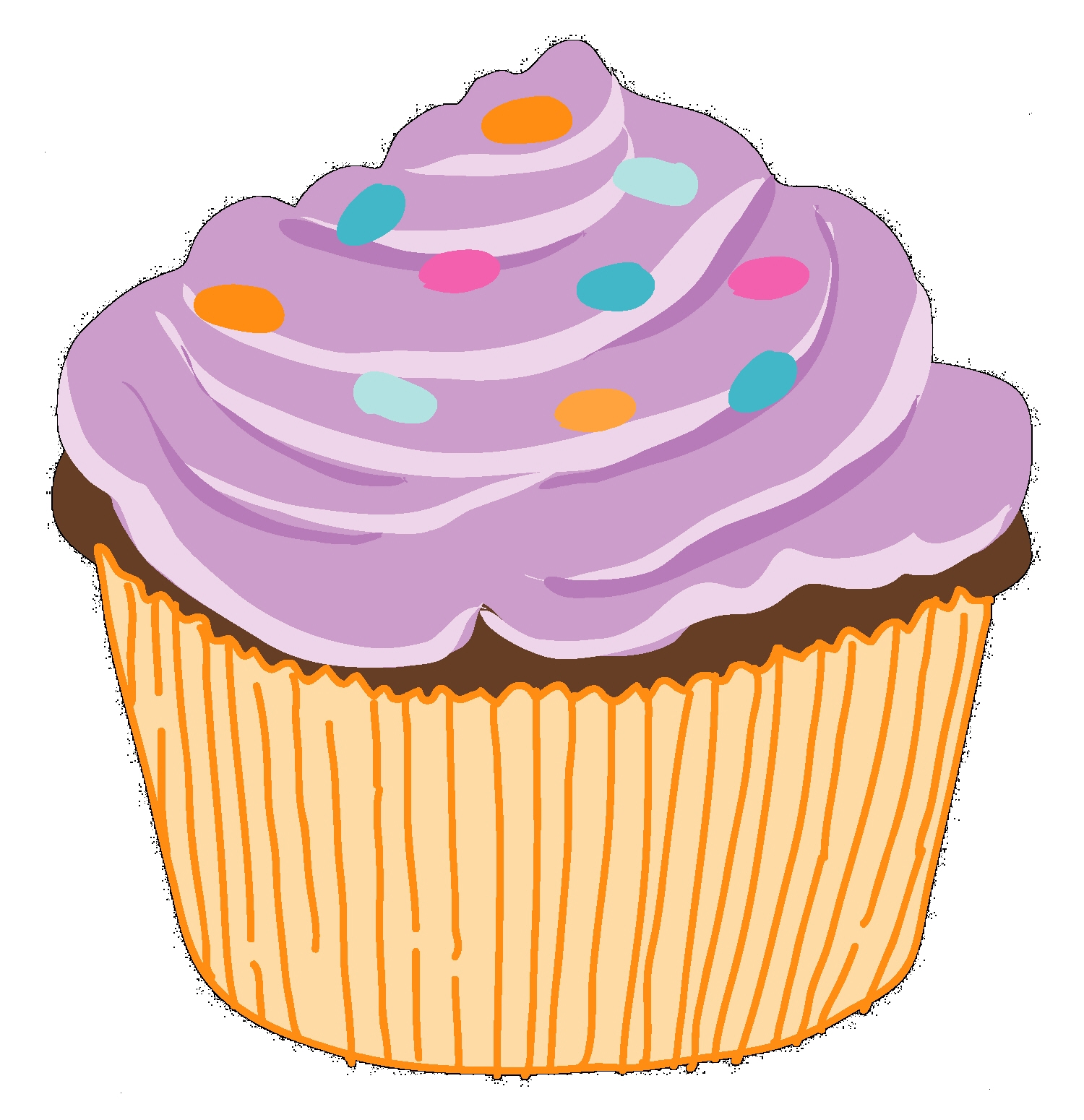Cupcake clipart free download free clipart images 2.