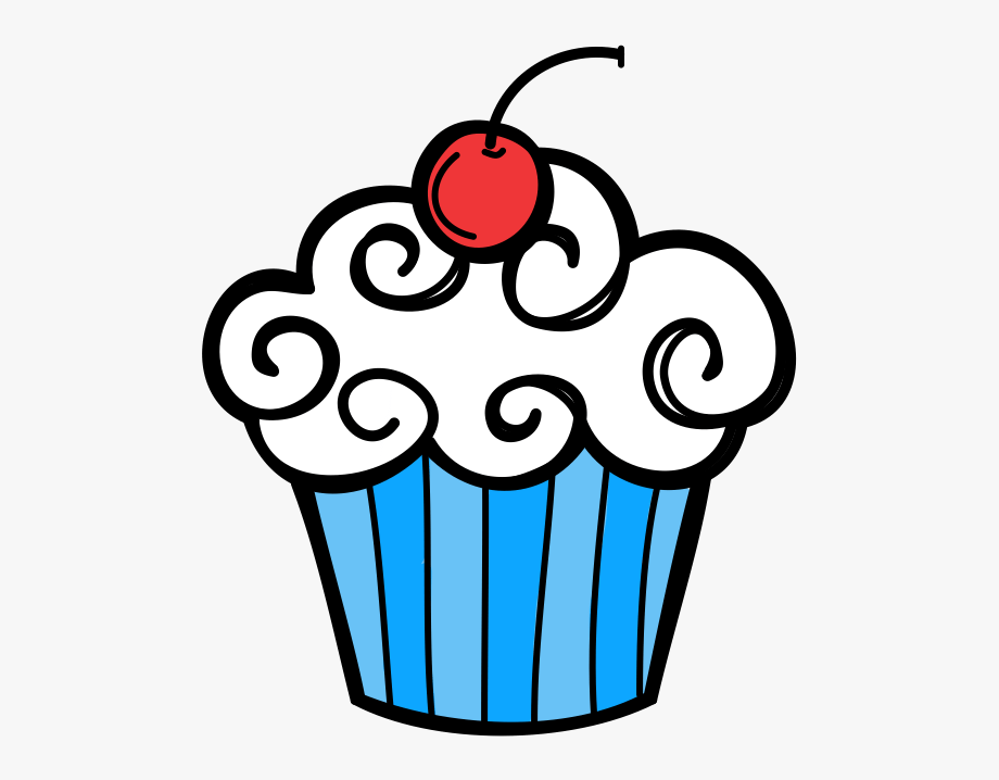 Red White And Blue Cupcake Clipart 2 By Elizabeth.
