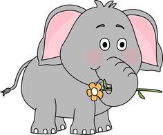 Cartoon Elephants.