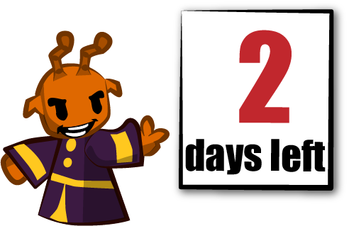 Only 2 days now!.
