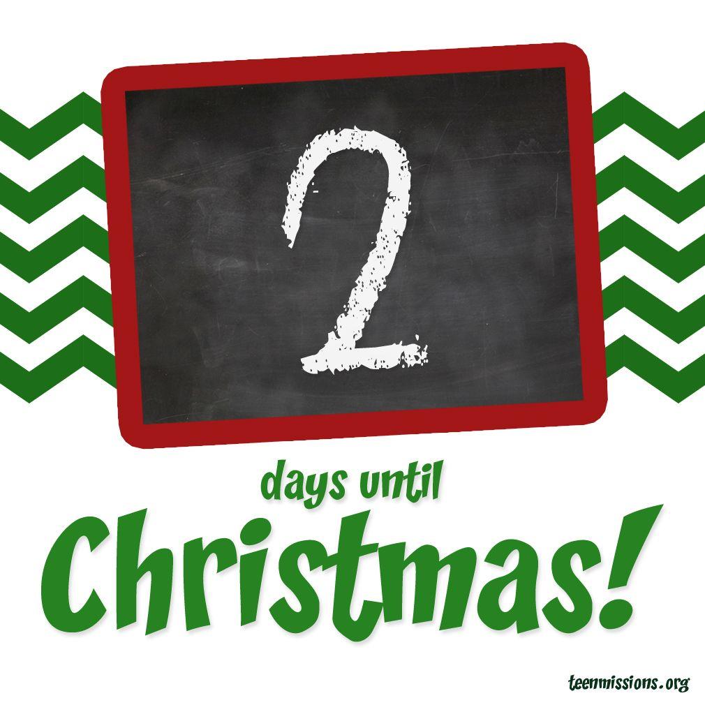 Countdown to Christmas.