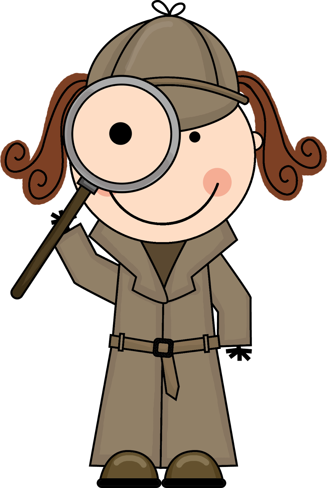 Detective clipart free images 2.
