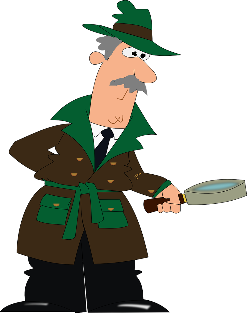 Detective free to use cliparts 2.